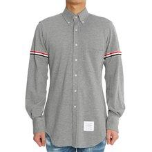 [톰브라운] 삼선 밴드 MWL150E 00050 035 남자 셔츠