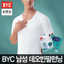 [비오유]BYC 남성데오반팔런닝 베이직스타일