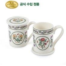 [포트메리온]베리에이션 커피머그 2p & 머그뚜껑(소) 2p