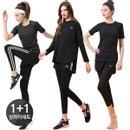 슬레진저 여성 전문 반바지레깅스+티셔츠 상하세트
