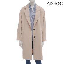 AD HOC 여성 싱글 레이어 오버핏 코트(HT3HC60)