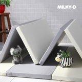 밀키D 폴더매트 4단(1400x2000x37mm) 슬림형