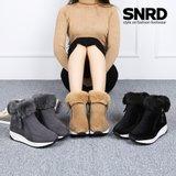 겨울신발 털부츠 여성부츠 방한화 키높이 털신 SN522