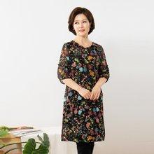 마담4060 엄마옷 화사해꽃블라우스 QBL908012