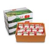 [大사이즈] 소백산 영주 세척사과 3 box, 총 10.5kg