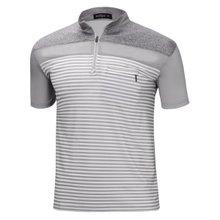 [파파브로]남성 기능성 쿨링 등산복 스판 반팔 티셔츠 MB-HS-WP-그레이