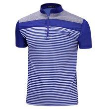 [파파브로]남성 기능성 쿨링 등산복 스판 반팔 티셔츠 MB-HS-WP-블루