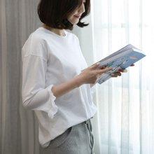 [웬디즈갤러리]7부 튤립 티셔츠 MTS008