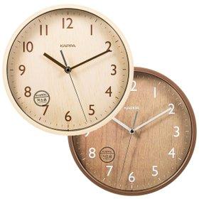[카파](IP213)무소음 우드패턴 인테리어벽시계 2종 택1
