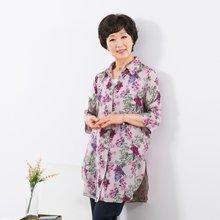 마담4060 엄마옷 꽃송이인견블라우스 QBL907031