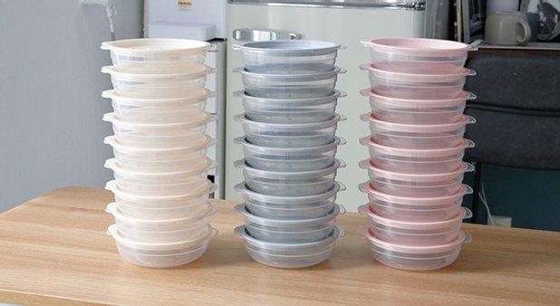 심플쿡 냉동밥 전자렌지용기 450ml 24개