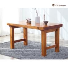 소나무 통원목 1350테이블(4인용식탁 테이블)