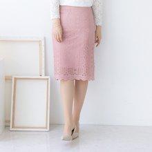 마담4060 엄마옷 샤랄라레이스스커트 QSK904004