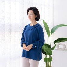 마담4060 엄마옷 단아한진주블라우스 ZBL002019
