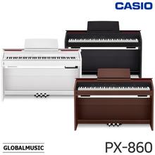카시오 디지털피아노 Privia PX-860 (256동시발음 상판오픈형 슬림피아노)