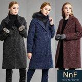 [TV쇼핑] NnF 여성 모직 패딩 코트