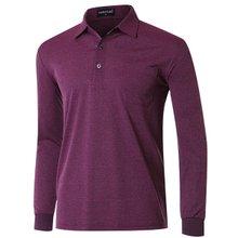 [파파브로]남성 국산 인견 줄무늬 카라 티셔츠 TH-A9-163-퍼플