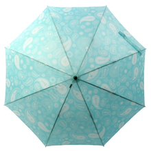 [VOGUE] 보그 일반형 자동장우산(양산겸용) - 페이즐리 (에메랄드블루)