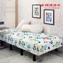 [라자가구]러블리N 일체형 침대 970싱글S