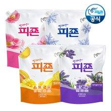 [용량UP] 피죤 섬유유연제 2300mlx6개 /세탁액체 빨래세제/무료배송