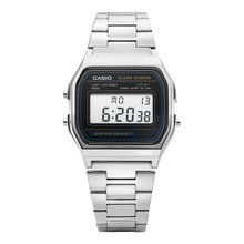카시오 CASIO A158WA-1DF (A158WA-1) 디지털 공용 메탈시계 32X25mm