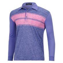[파파브로]남성 국산 긴팔 면 카라 티셔츠 TH-A9-354-퍼플