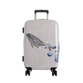 [타임워커]일러스트 여행용 캐리어 20형 웨일즈드림 기내용 여행가방/TSA/확장