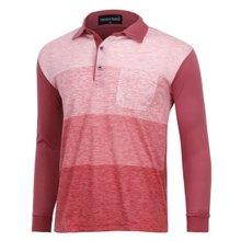 [파파브로]남성 국산 긴팔 면 카라 티셔츠 TH-A9-355-레드