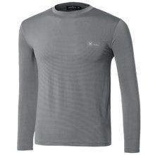 [파파브로]남자 여름 기능성 스판 라운드 긴팔 티셔츠 MB-TR9-WP-그레이