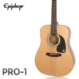 EPIPHONE 에피폰 어쿠스틱 기타 PRO-1/네추럴 컬러 D바디/통기타/입문용기타/포크기타