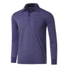 [파파브로]남성 국산 긴팔 기본 카라 티셔츠 TH-A9-316-네이비