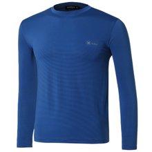 [파파브로]남자 여름 기능성 스판 라운드 긴팔 티셔츠 MB-TR9-WP-블루