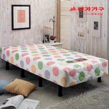 [라자가구]롤리팝N 일체형 침대 970싱글S