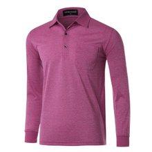 [파파브로]남성 국산 긴팔 기본 카라 티셔츠 TH-A9-319-와인