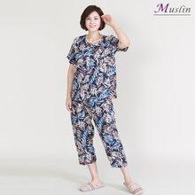 버드나무상하세트인견 홈웨어 -HS1079- 모슬린 엄마옷