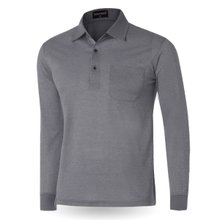 [파파브로]남성 국산 긴팔 기본 카라 티셔츠 TH-A9-318-그레이