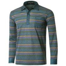 [파파브로]남성 스트라이프 국산 카라 티셔츠 TH-A9-1150-그린