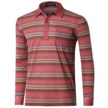 [파파브로]남성 스트라이프 국산 카라 티셔츠 TH-A9-1151-레드