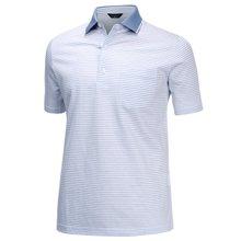[파파브로]남성 여름 국산 줄무늬 반팔 카라 면 티셔츠 HL-H9-113-블루