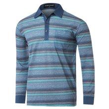 [파파브로]남성 스트라이프 국산 카라 티셔츠 TH-A9-924-블루