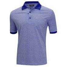 [파파브로]남성 스트라이프 대나무 섬유 반팔 카라 티셔츠 HL-H9-115-블루
