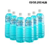 아이나비 HUB 프리미엄 에탄올 워셔액 1.8L 6개
