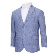 [파파브로]남자 국산 캐주얼 경량 패턴 콤비 자켓 NGD-A9-2034-블루