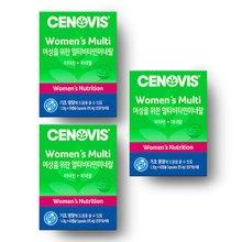 [세노비스] 여성용 멀티비타민미네랄 (60캡슐, 60일분) x 3통