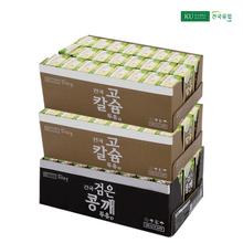 [건국] 고칼슘두유 48팩+검은콩깨두유 24팩 (24팩x3박스 72팩)