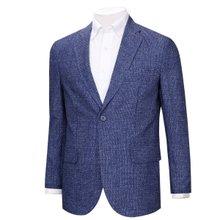 [파파브로]남자 국산 캐주얼 경량 패턴 콤비 자켓 NGD-A9-2036-블루