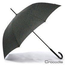 [크로커다일] 돔형 자동장우산 _ 핀도트 (Pin dot)