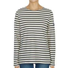 [세인트제임스] 밍콰이어 스트라이프 0237 50 여자 긴팔티셔츠