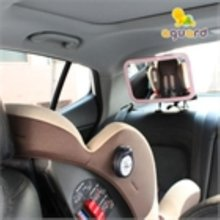 [아가드]차량용 유아안전거울 후방형 1입