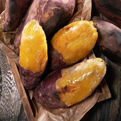 [자연맛남] 해남 첫사랑 꿀고구마 5kg 특상 x 2박스 (개당100-300g/총10kg)